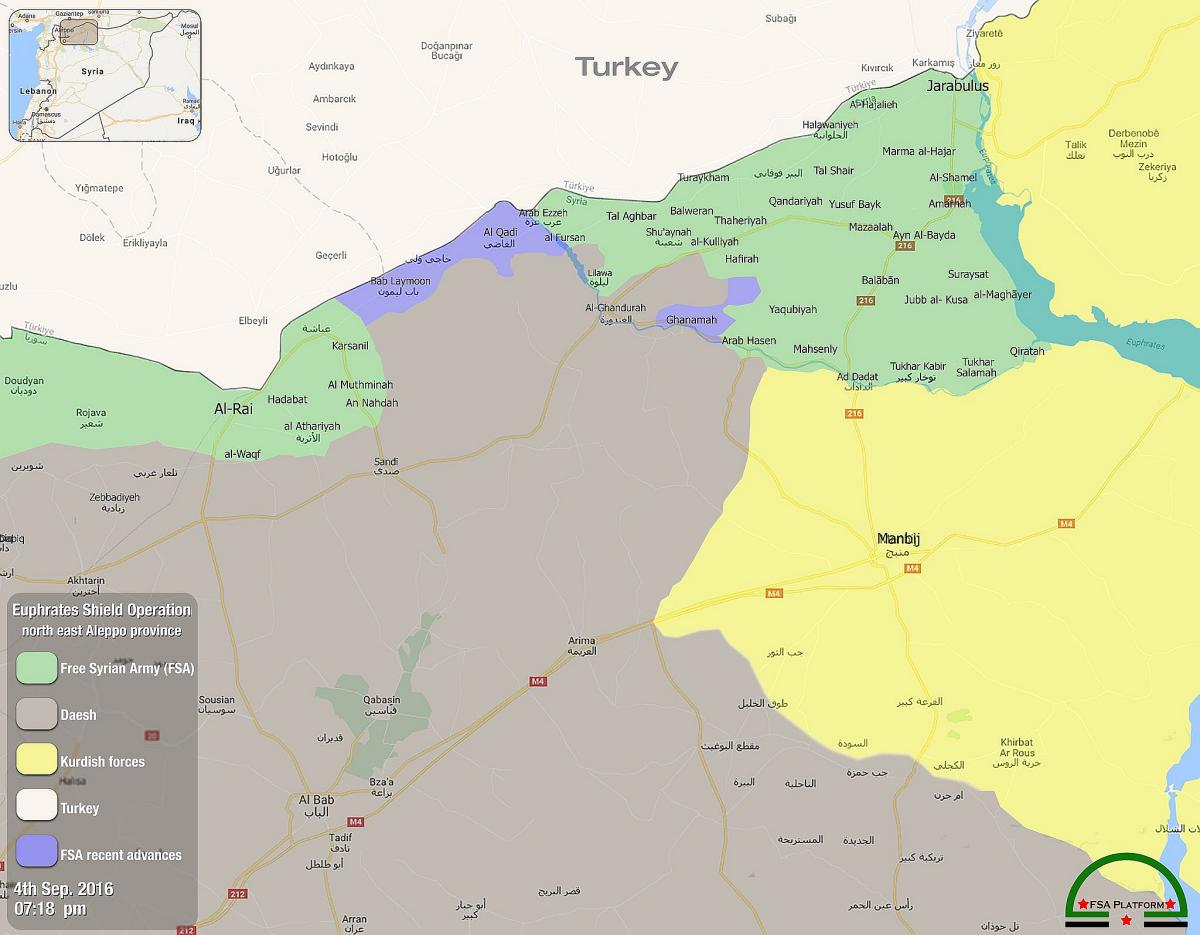 Уточненная карта