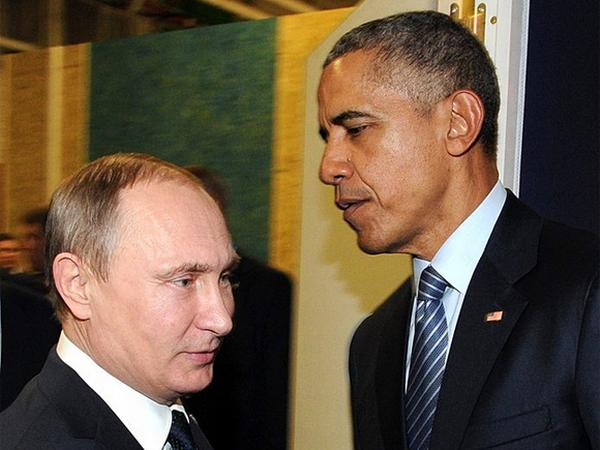 Путин и Обама встретились