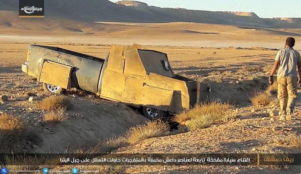 Шахид-мобиль ИГИЛ заехал в кювет. Путин и аль-Багдади братья на век, оба от одного папы-КГБ