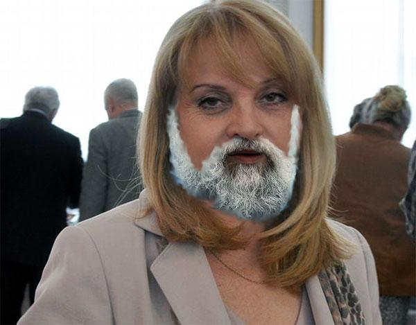 У Панфиловой выросла борода Чурова