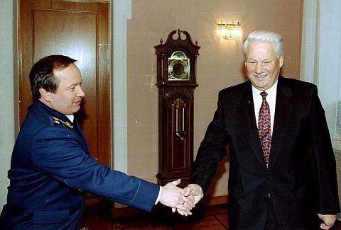 Скуратов и Ельцин