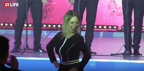 Танцы Марии Захаровой