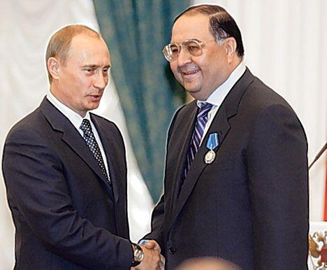 Путин и Усманов