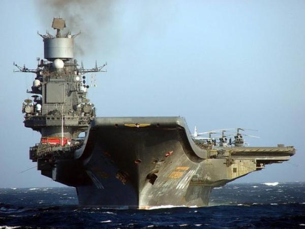 Недоносец «Адмирал Кузнецов»
