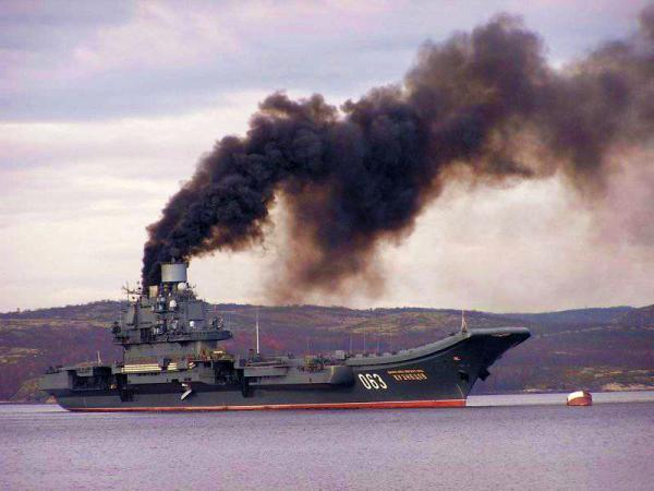 Дымящая гордость Путина