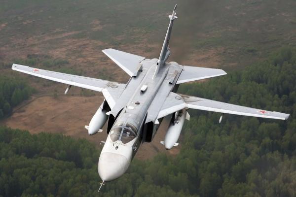 Беззащитный Су-24