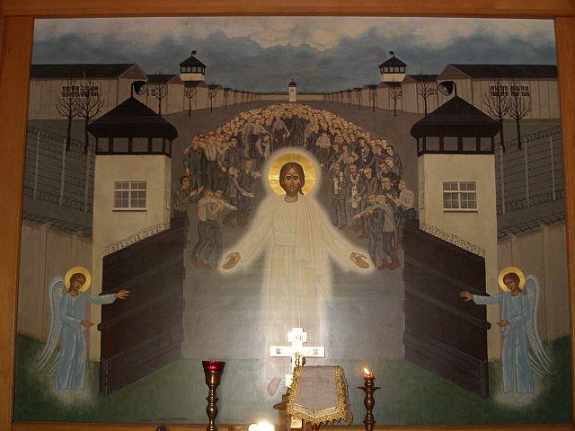 Христос освобождает узников Дохау