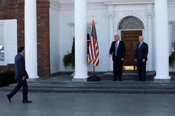 Трамп встречает Ромни