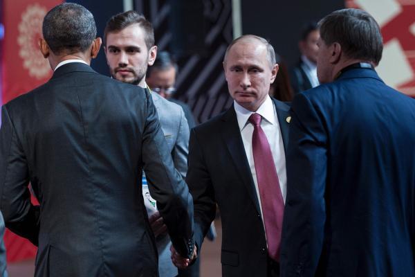 Путин поймал Обаму