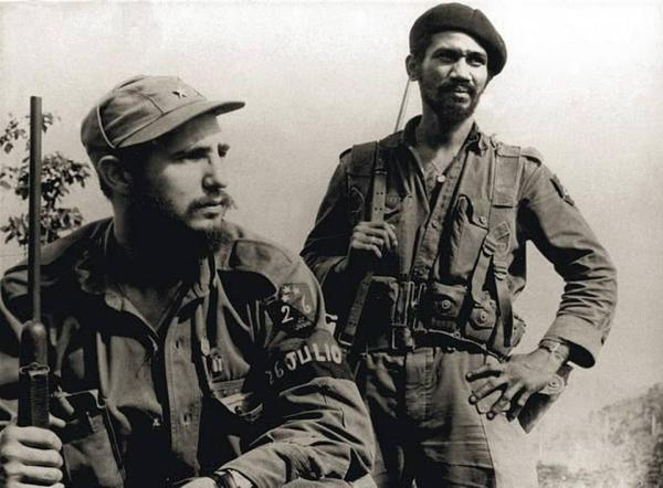 Кастро с винтовкой