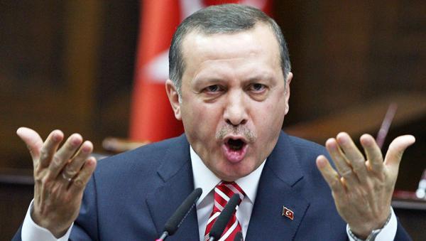 Эрдоган негодует