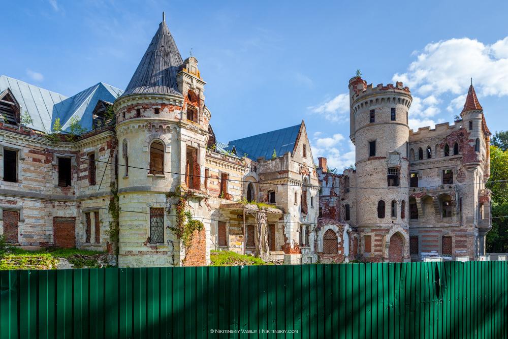 замок храповицкого в поселке муромцево фото ресторане