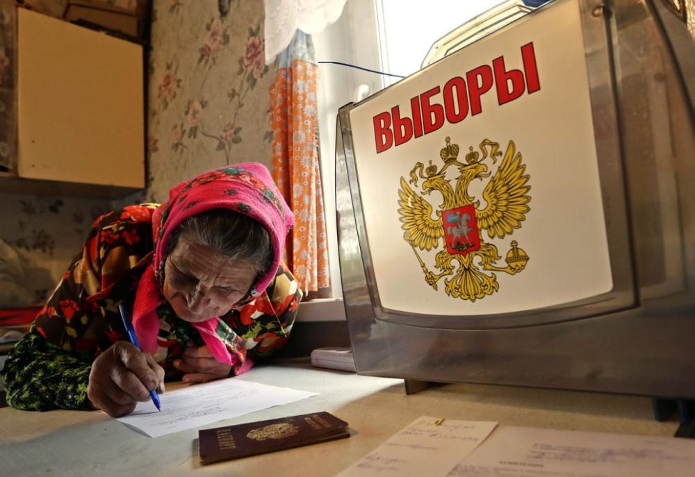Как показали в США российские выборы