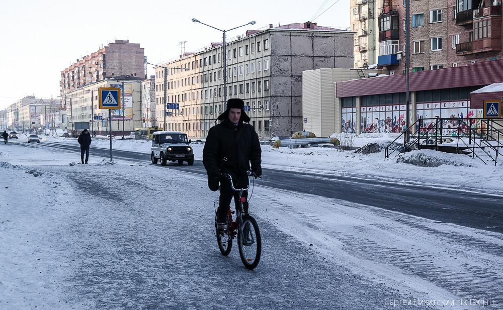 На велосипеде в -30: идиотизм или норма?