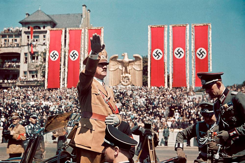 Возвращение Mein Kampf Гитлера