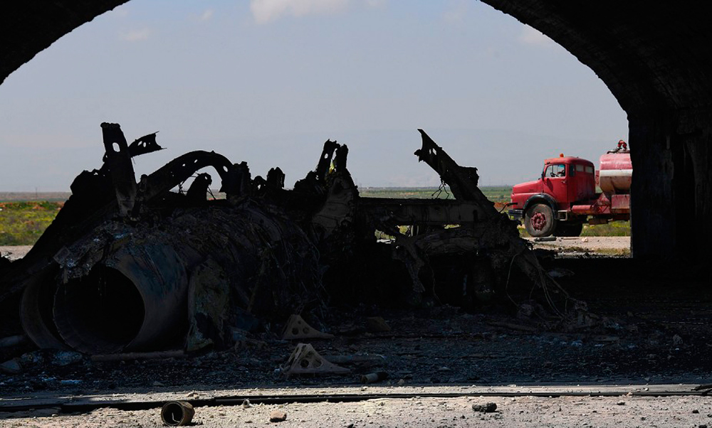 Почему российские ПВО не ответили на удар США?