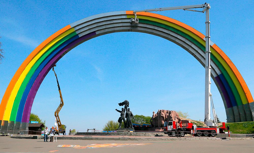Украина подЛГБТготовилась к Евровидению