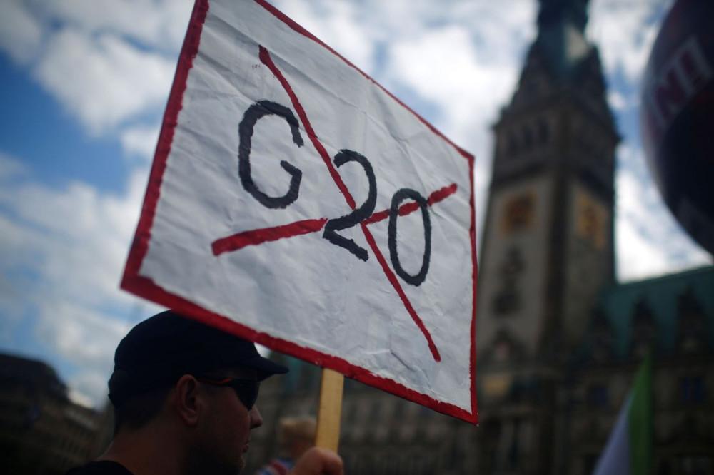 G20 - Двадцатке здесь не рады...