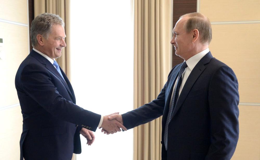 Путин едет в Финляндию