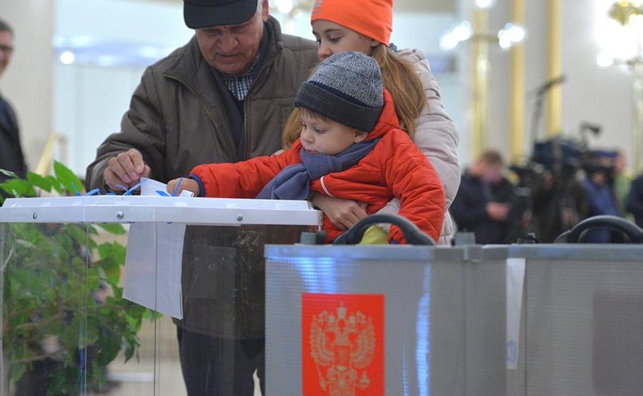 Россия выбирает губернаторов