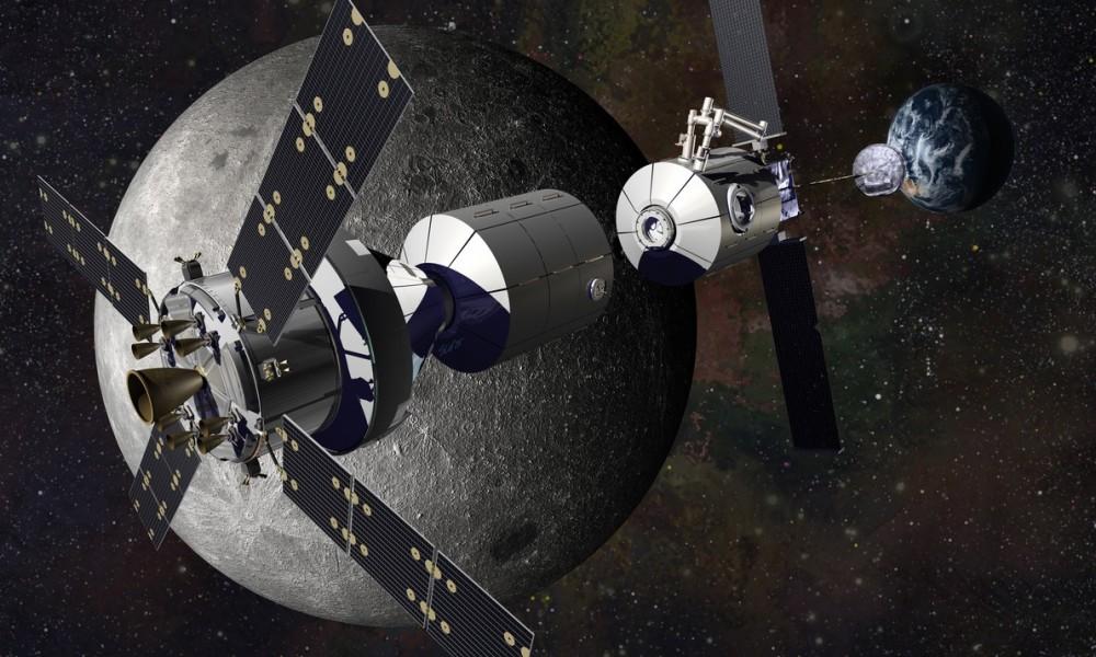 Не сотрудничаем на Земле, но работаем по Луне