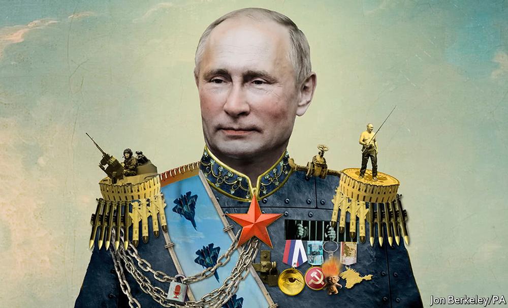 Путин в образе царя