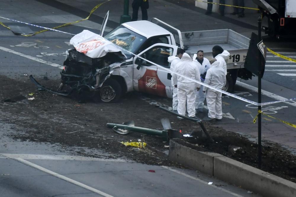 Теракт в центре Нью-Йорка