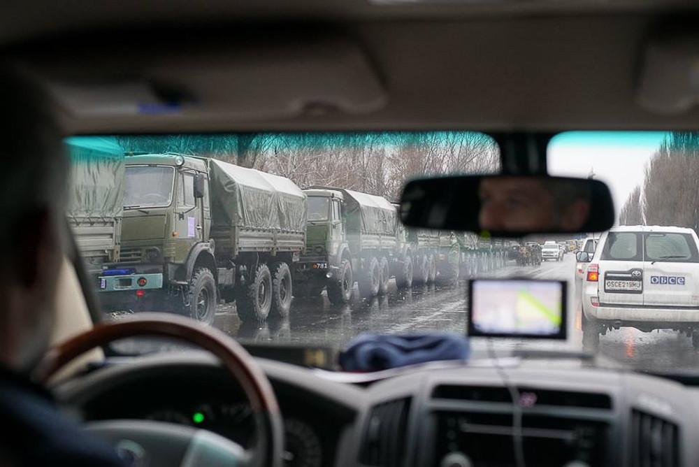 Горячий фотоотчет из Луганска