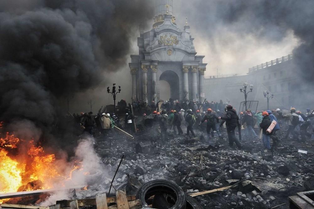 Маленькие любители Майдана