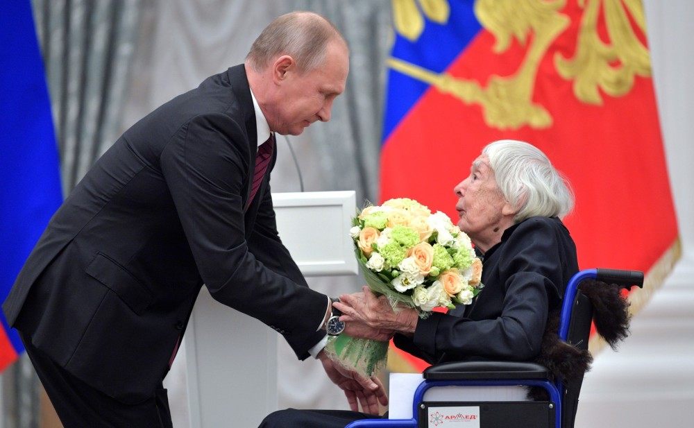 """Putin believes that the """"cities of the Sun"""" will not be activities, areas, achievements, the Sun """", human rights, outstanding, Russia, always, others, which, Alekseeva, the decision is foreseen, such awards, something, also, Putin,"""" cities, state"""