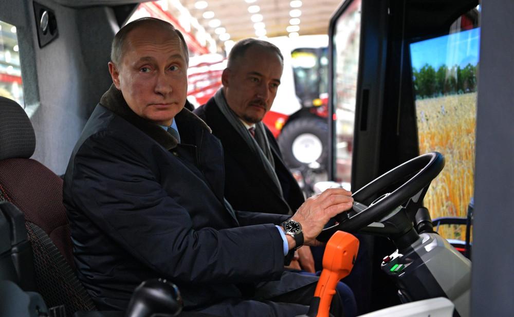 Путин задумался о смене профессии