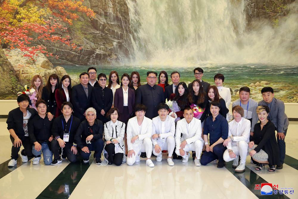 Поп-концерт в Северной Корее