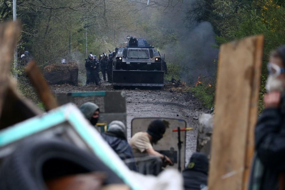 Война в Нотр-Дам-де-Ланд