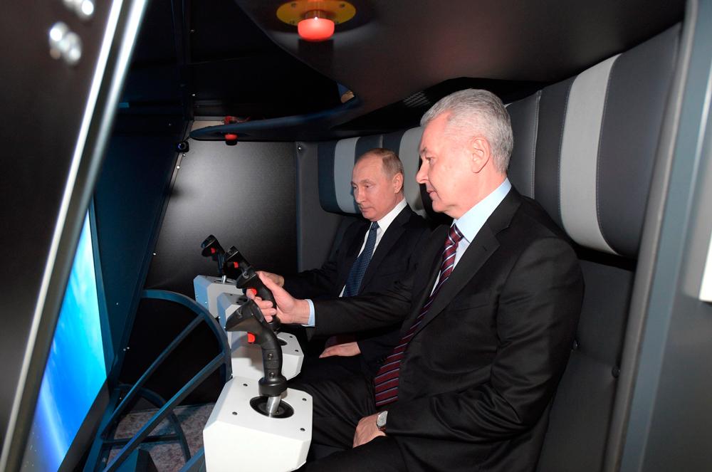 Путин в космосе