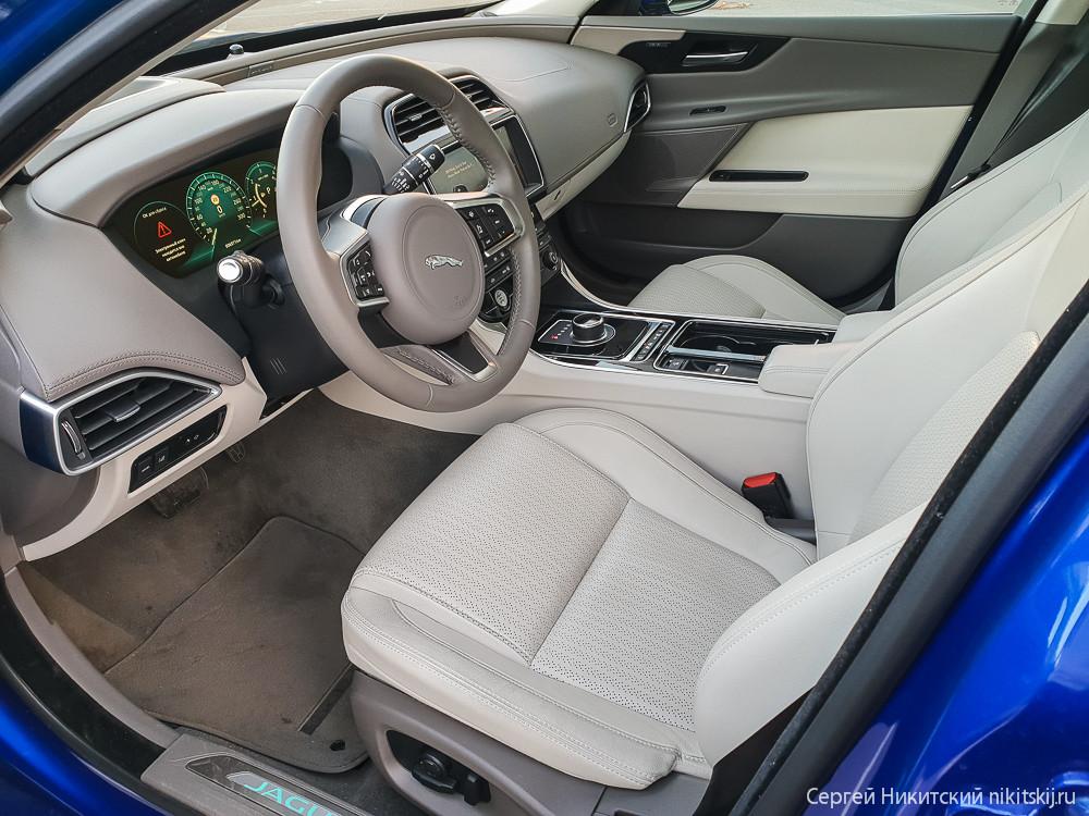 Цвет настроения синий - тест-драйв Jaguar XE Jaguar, автомобиль, отличается, время, очень, конкурентов, дизайн, также, объемом, выставить, отопления, вентиляции, Достаточно, установить, желаемую, температуру, начинки, электронной, удобное, может