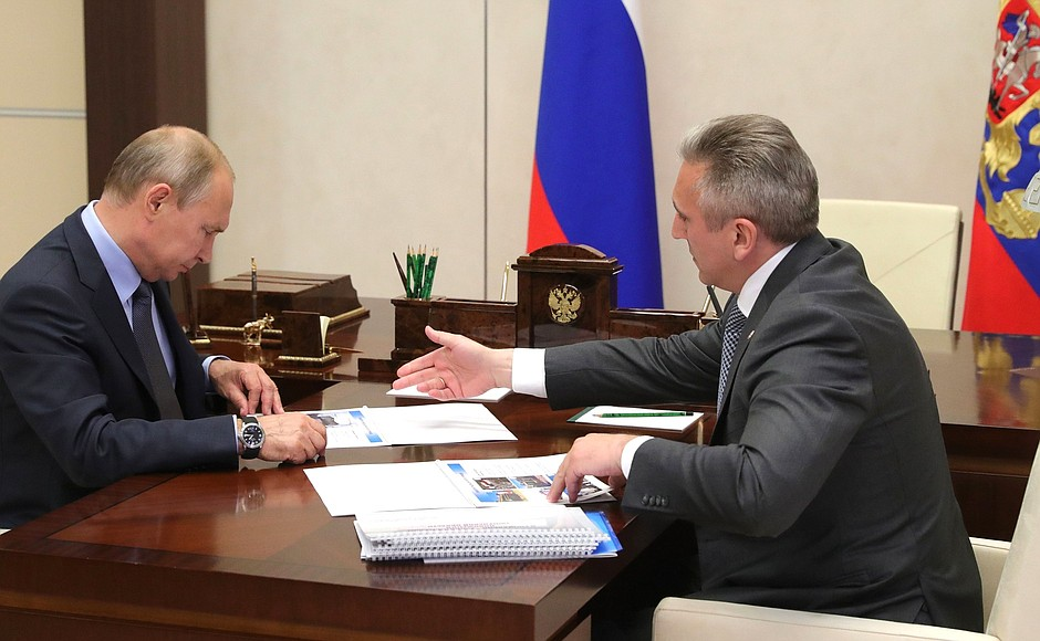 Путин потребовал активизировать усилия