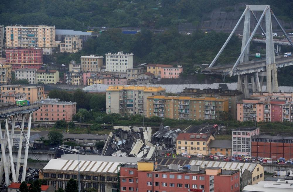 Почему рухнул мост в Италии?