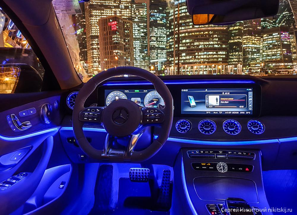 Тест-драйв Mercedes-AMG E53