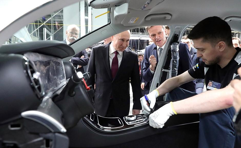 Новый автомобильный завод в России