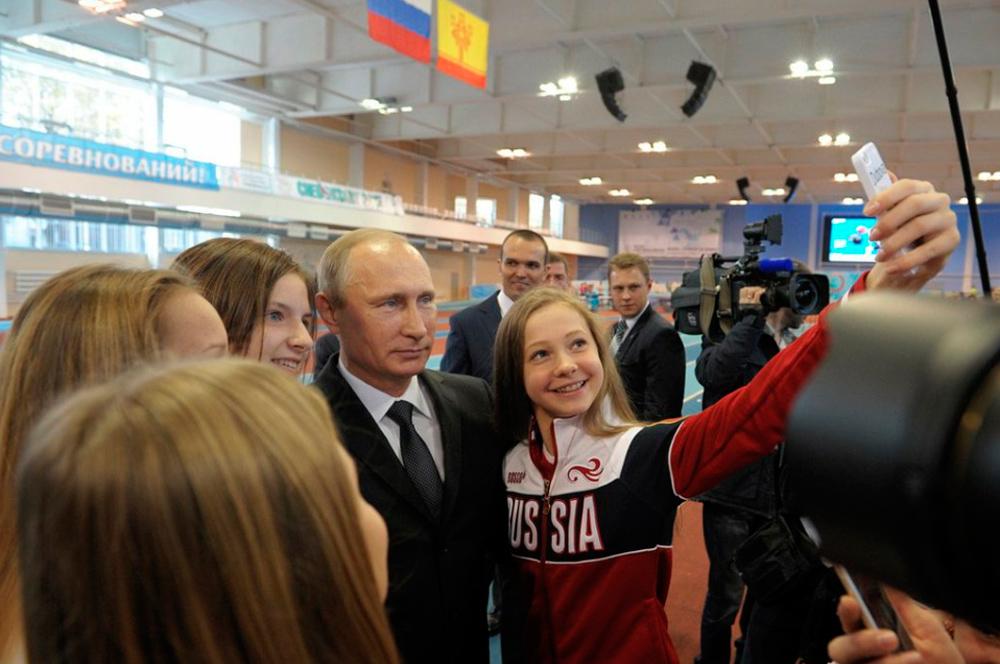 Один день с президентом России