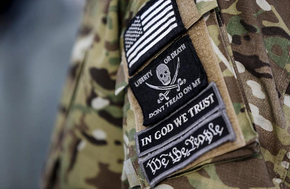 Американские ополченцы - фоторепортаж