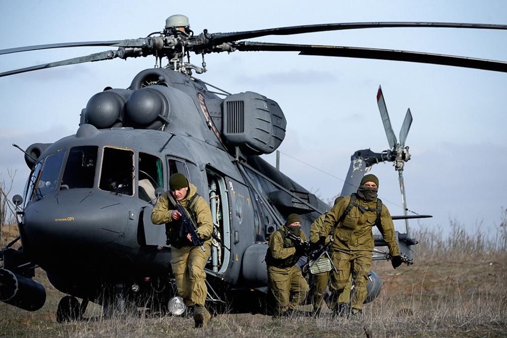 Масштабные учения Вооруженных сил России - фоторепортаж