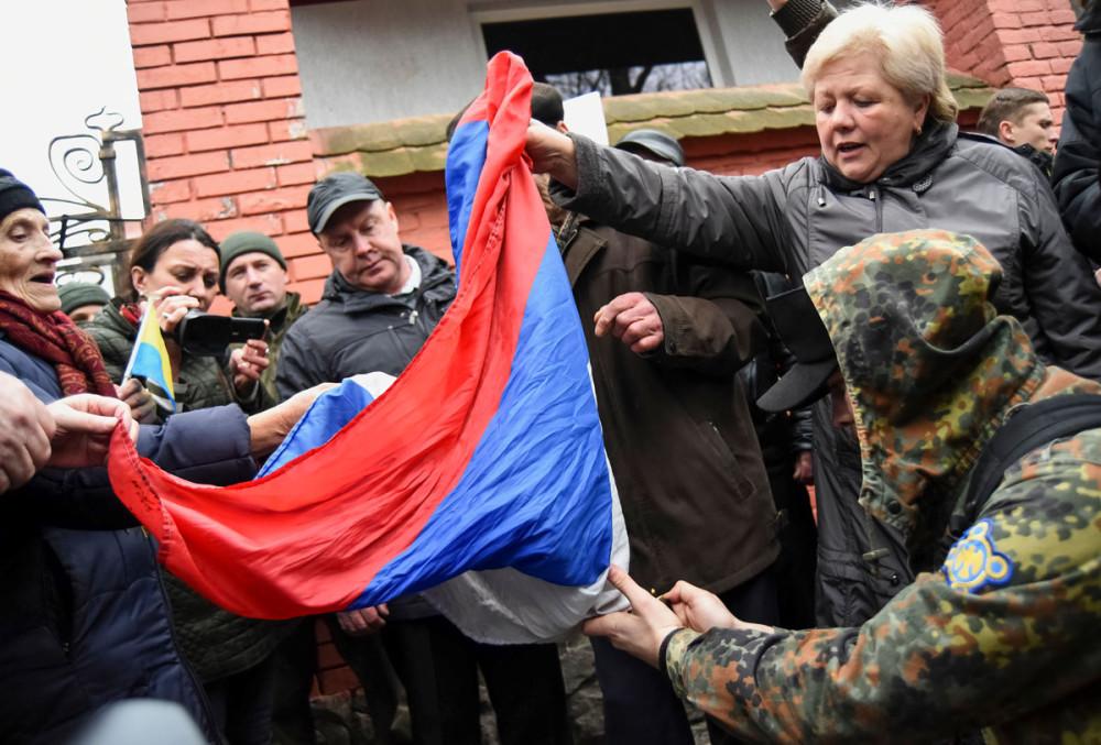 Разрыв дипломатических отношений с Украиной