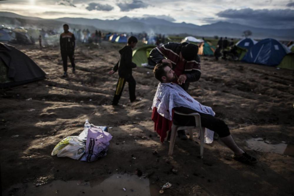 Мы люди, а не звери - фоторепортаж о жизни беженцев в Европе