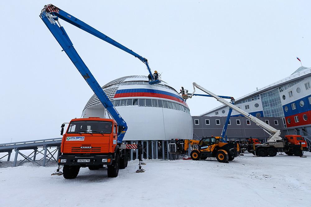 Что строят российские военные в Арктике?