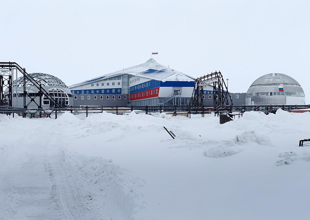 Уникальная российская база «Арктический трилистник» поразила Запад