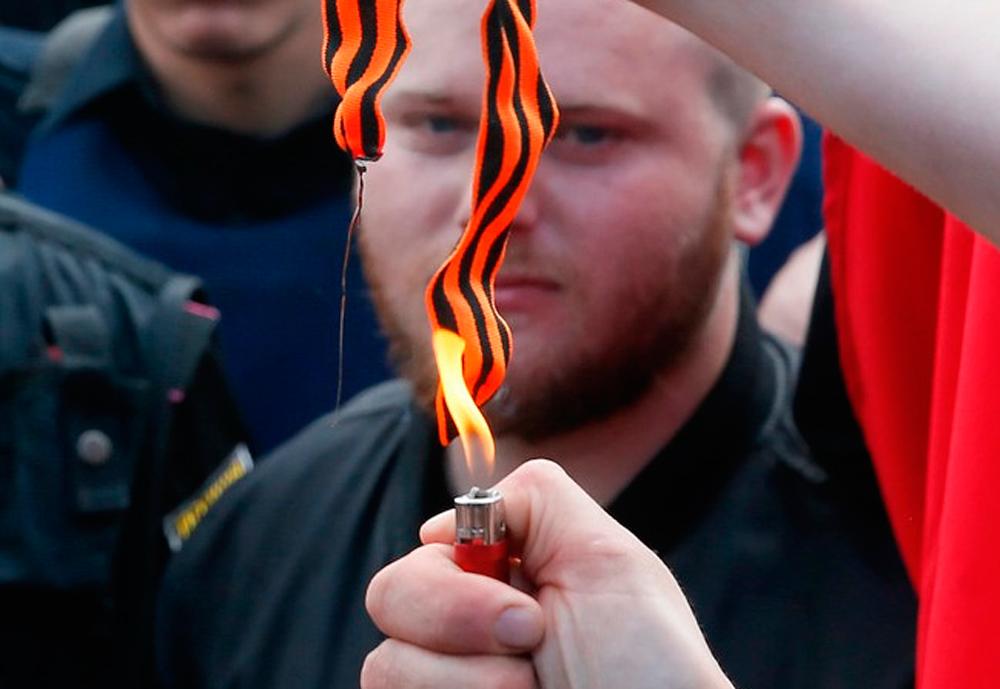 День скрытой Победы на Украине - фоторепортаж