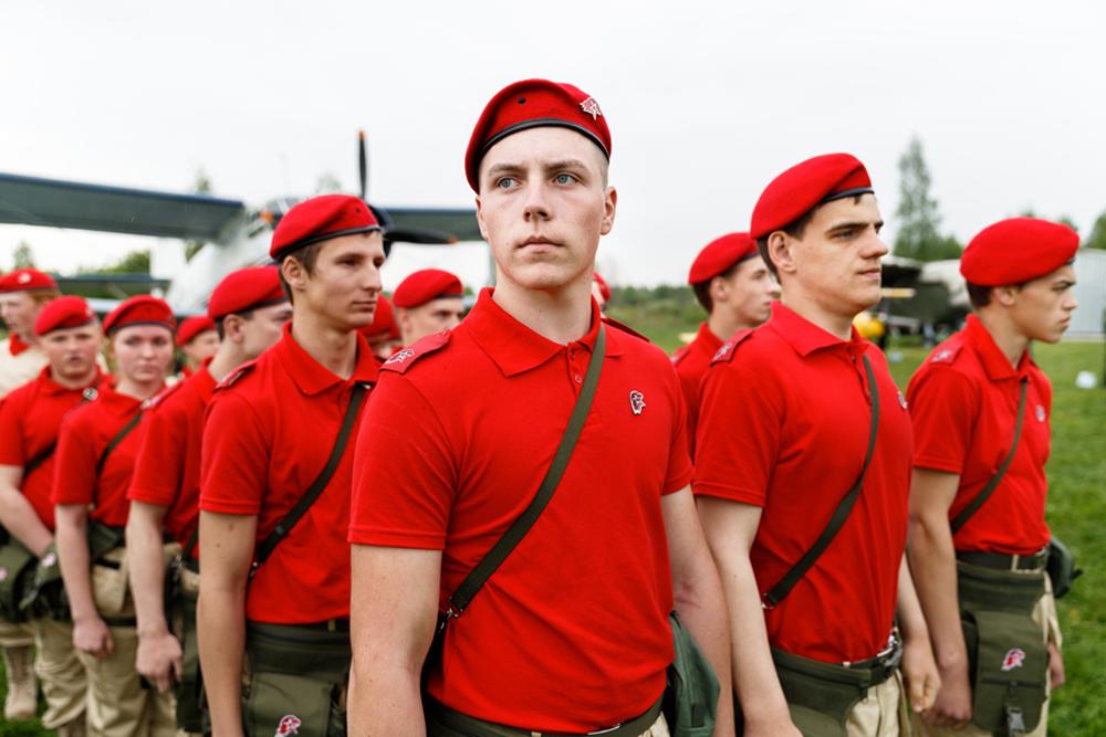 Юнармия России - фоторепортаж