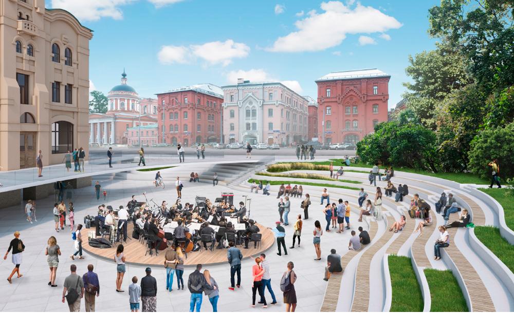 Политехнический музей станет центром большой пешеходной зоны