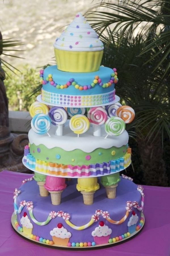 Красивые картинки детских тортов